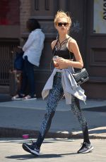ROMEE STRIJD Out in New York 06/12/2017