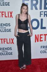 ROMY BYRNE at Friends from College Premiere in New York 06/26/2017