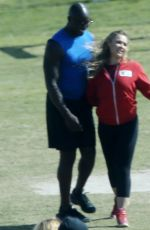 RONDA ROUSEY on the Set of Battle of the Network Stars, Show in Los Angeles 06/11/2017