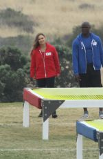 RONDA ROUSEY on the Set of Battle of the Network Stars, Show in Malibu 06/04/2017