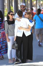 ROONEY and KATE MARA Out and About in Beverly Hills 06/14/2017