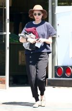 ROONEY MARA Out and About in Los Feliz 06/17/2017