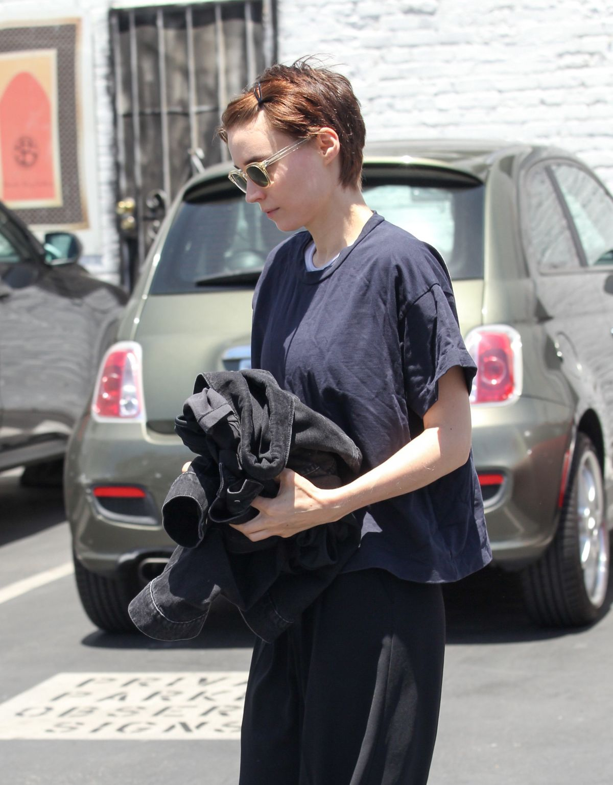 ROONEY MARA Out in Los Angeles 06/13/2017