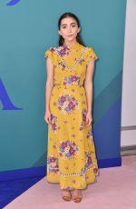 ROWAN BLANCHARD at CFDA Fashion Awards in New York 06/05/2017