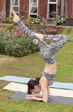 ROXY SHAHIDI and RHIAN SUDGEN at Yoga Session in Hertfordshire 06/24/2017