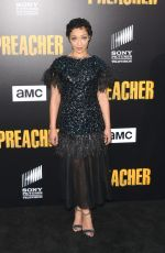 RUTH NEGGA at Preacher Season 2 Premiere in Los Angeles 06/20/2017