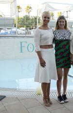 SABINE LISICKI at WTA Mallorca Open Tennis Presentation Party in Majorca 06/18/2017
