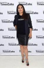 SALMA HAYEK at Timestalks: The Allegory of Beatriz at Dinner in New York 06/07/2017
