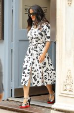 SALMA HAYEK Leaves Her Apartment in New York 06/09/2017