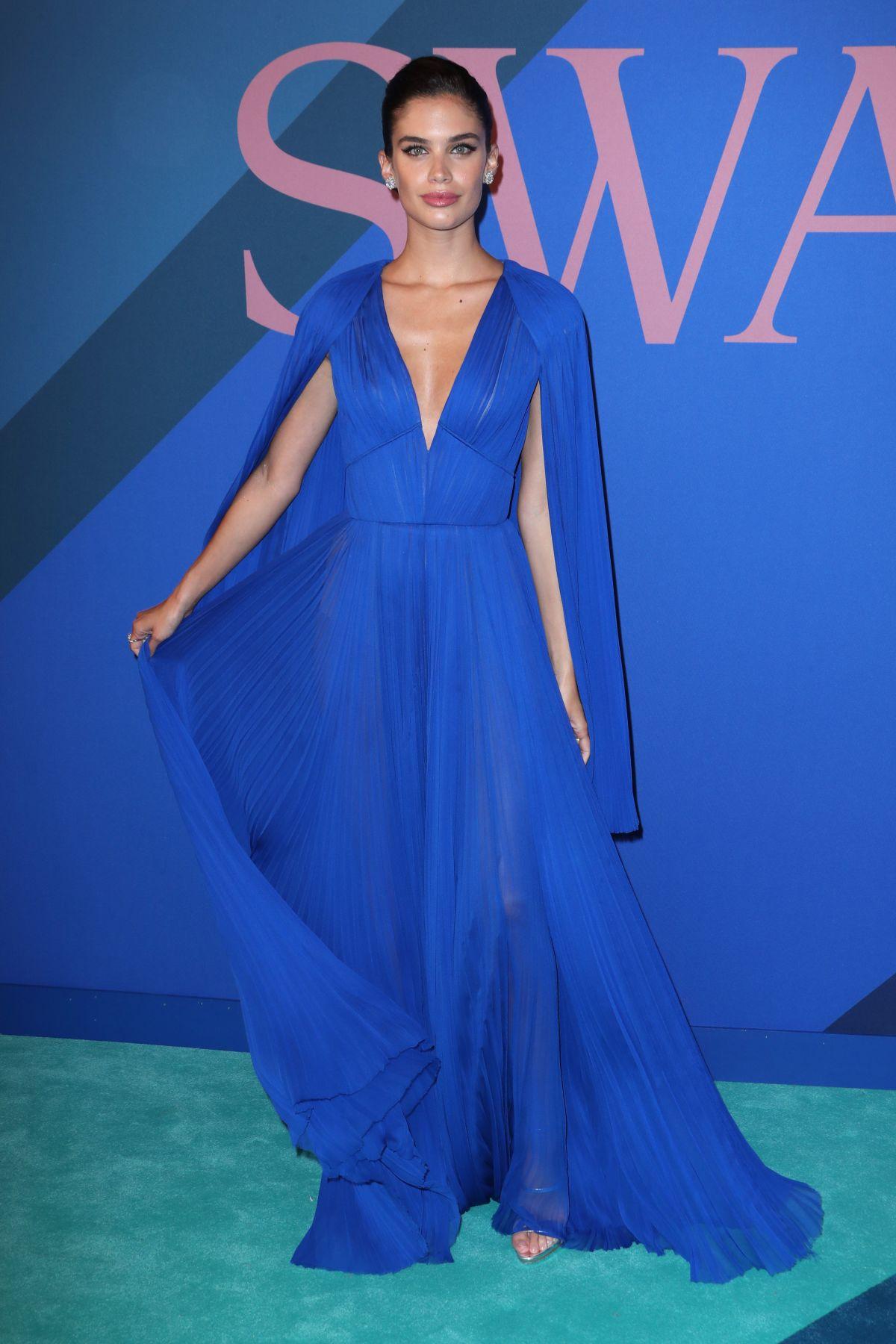SARA SAMPAIO at CFDA Fashion Awards in New York 06/05/2017