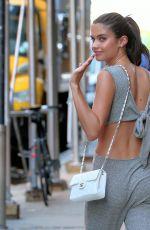 SARA SAMPAIO Leaves a Studio in New York 06/22/2017