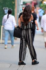 SARA SAMPAIO Out and About in New York 06/27/2017