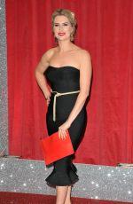 SARAH JAYNE DUNN SCARLETT ARCHER at British Soap Awards in Manchester 06/03/2017