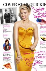 SCARLETT JOHANSSON in Cosmopolitan Magazine, July 2017