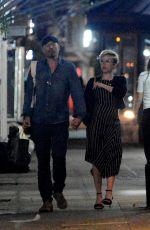 SCARLETT JOHANSSON Night Out in New York 06/20/2017