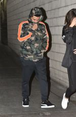 SELENA GOMEZ and The Weekd Night Out at The Grove in Los Angeles 06/15/2017