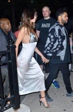 SELENA GOMEZ and The Weekd Night Out in New York 06/05/2017