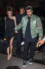 SELENA GOMEZ and The Weekd Night Out in New York 06/06/2017