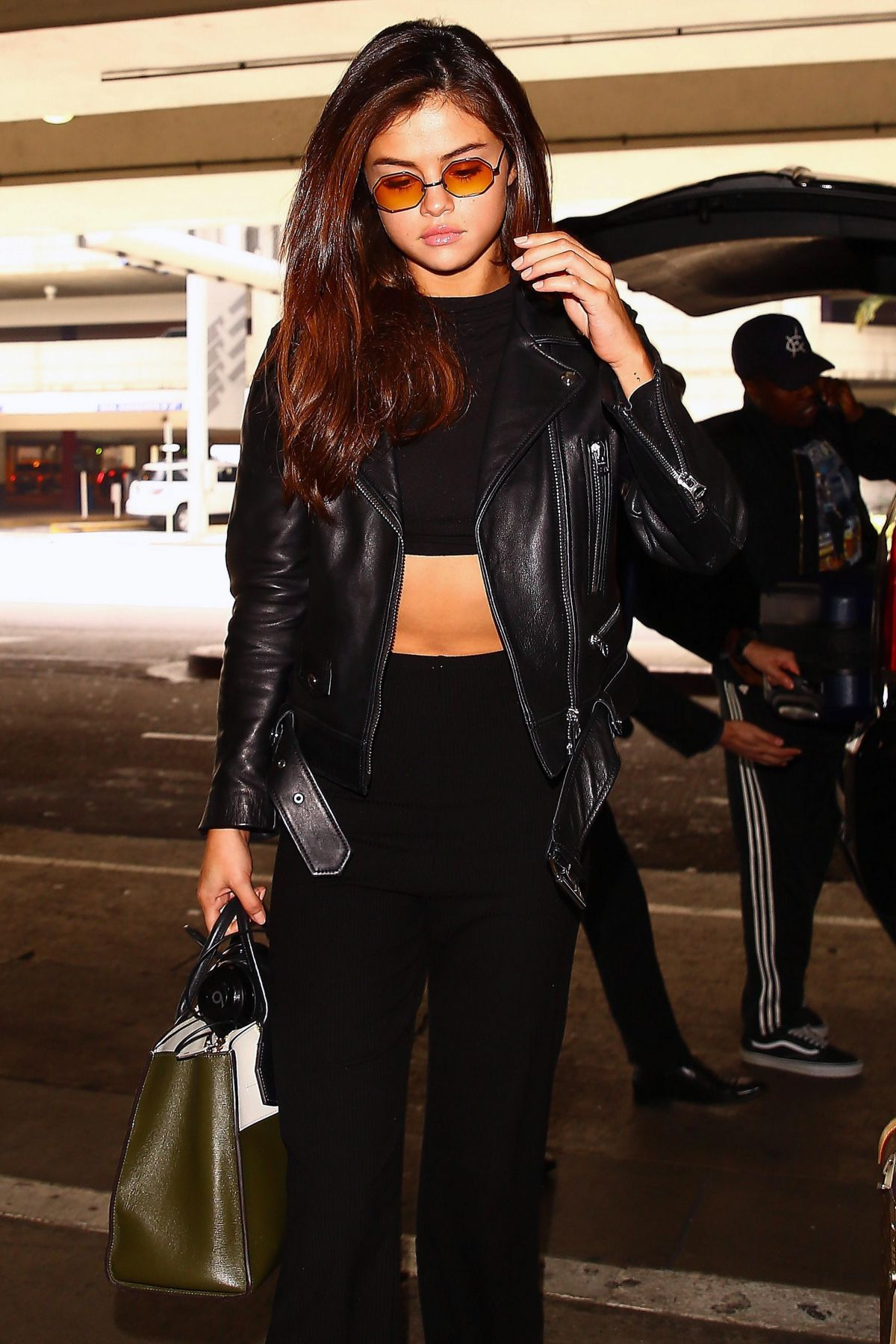 SELENA GOMEZ at Los Angeles International Airport 06/02/2017