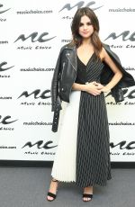 SELENA GOMEZ at Music Choice Studio in New York 06/05/2017