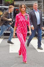 SELENA GOMEZ Heading to Madison Square Garden in New York 06/05/2017