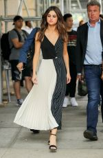 SELENA GOMEZ Leaves Her Hotel in New York 06/05/2017