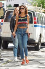 SELENA GOMEZ Out and About in New York 06/03/2017