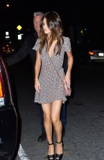 SELENA GOMEZ Out for Dinner at Park Side Restaurant in Queens 06/04/2017