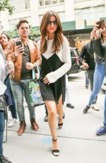 SELENA GOMEZ Out in New York 06/05/2017
