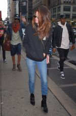 SELENA GOMEZ Out on Times Square in New York 06/04/2017