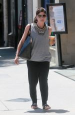 SELMA BLAIR Out for Coffee in Los Angeles 06/13/2017
