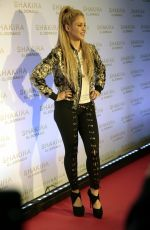 SHAKIRA at El Dorado Album Launch in Barcelona 06/08/2017