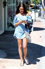 SHANINA SHAIK Out and About in West Hollywood 06/20/2017