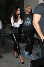 SHAY MITCHELL Leaves Catch LA in West Hollywood 06/22/2017