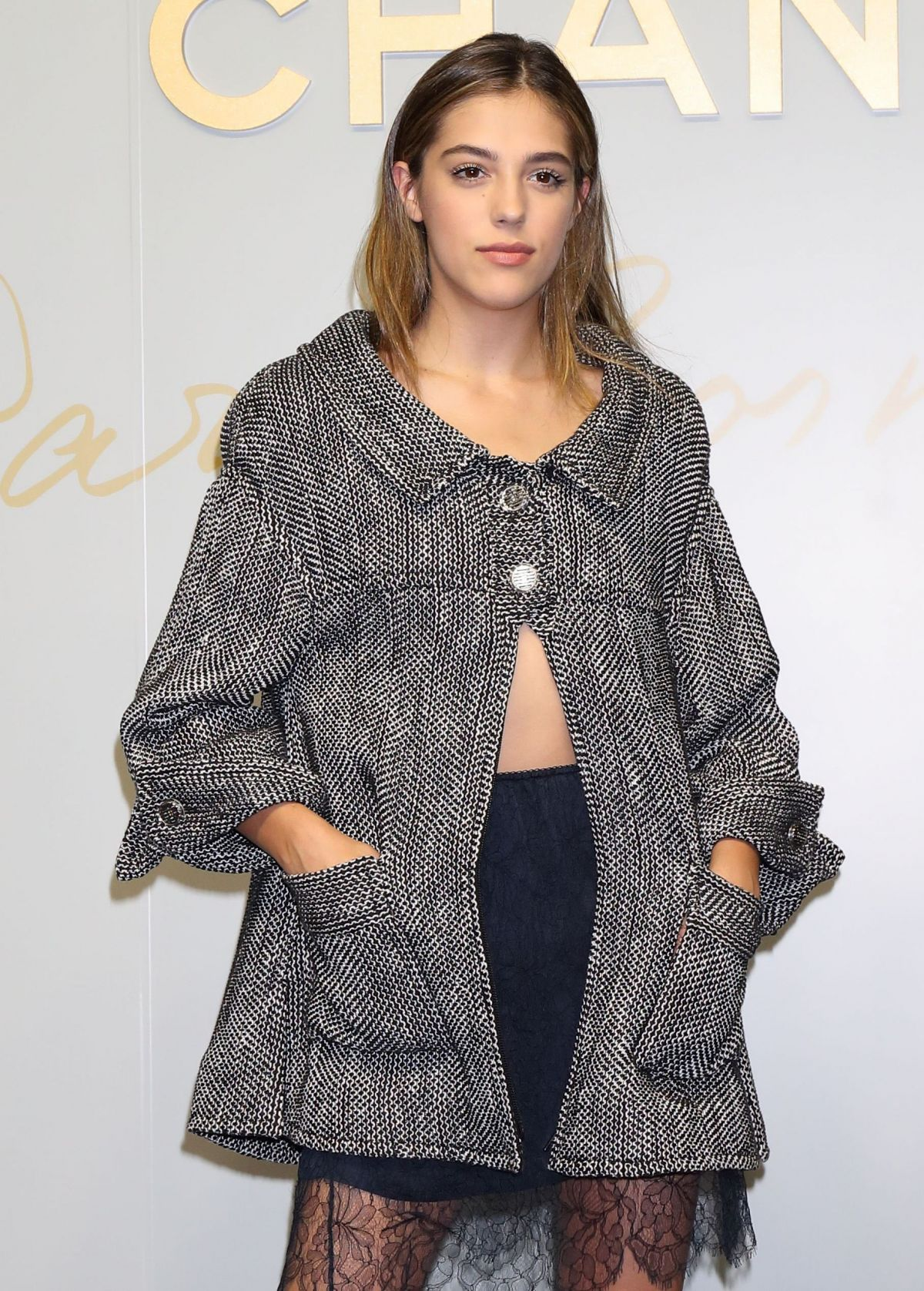 SISTINE ROSE STALLONE at Chanel Metiers D'Art 2016/17 Collection Fashion Show in Tokyo 05/31/2017