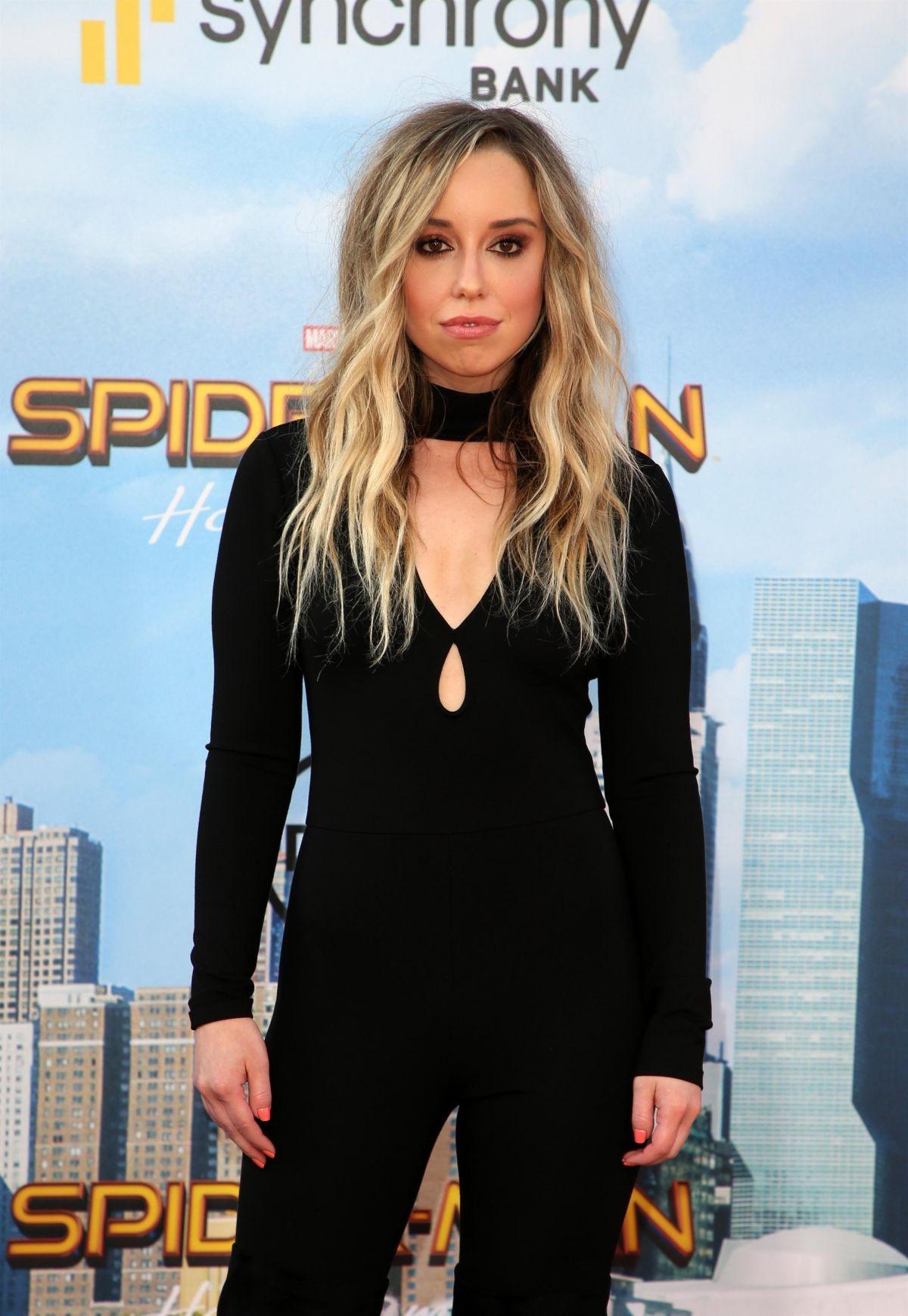 SKYLER SHAYE at Spiderman: Homecoming Premiere in Los Angeles 06/28/2017