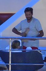 SOFIA RICHIE and Scott Disick at a Yacht in South France 05/26/2017