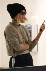 SOFIA RICHIE at LAX AIrprot in Los Angeles 06/08/2017