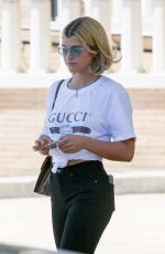 SOFIA RICHIE Out and About in Beverly Hills 06/26/2017