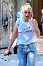 SOFIA RICHIE Out and About in New York 06/01/2017
