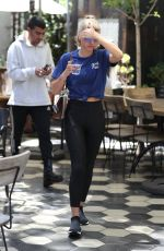 SOFIA RICHIE Out for Lunch in West Hollywood 06/16/2017