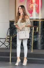 SOFIA VERGARA Out Shopping in Beverly Hills 06/02/2017
