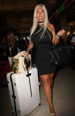 SOPHIA WOLLERSHEIM at LAX Airport in Los Angeles 06/11/2017