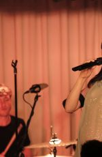 SOPHIE ELLIS-BEXTOR Performs at Glastonbury Warm Up Set 06/22/2017