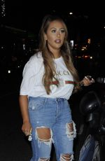 SOPHIE KASAEI Night Out in London 06/14/2017