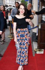 SOPHIE MCSHERA at Hamlet Play in London 06/15/2017