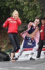 SOPHIE TURNER and Joe Jonas Arrives at a Gym in Los Angeles 06/06/2017