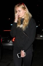 SOPHIE TURNER and Joe Jonas Night Out in West Hollywood 06/12/2017