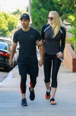 SOPHIE TURNER and Joe Jonas Out Hiking at Runyon Canyon Park in Hollywood Hills 06/09/2017