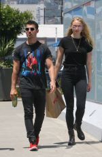 SOPHIE TURNER and Joe Jonas Out in Los Angeles 06/05/2017